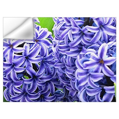 Hyacinth Flower Wall Art Wall Decal