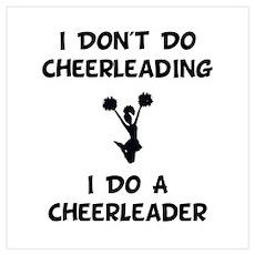 Do A Cheerleader Wall Art Poster