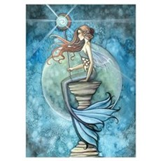 Beautiful Mermaid Wall Art Poster