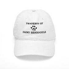 Pawperty: Saint Berdoodle Baseball Cap