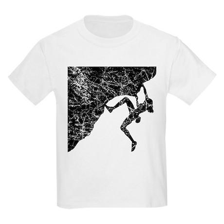 Female - Just Climb Kids Light T-Shirt