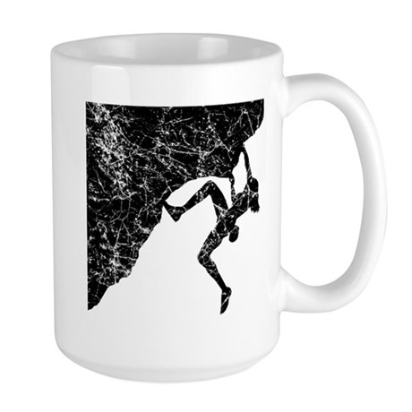 Female - Just Climb Large Mug