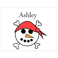Ashley - Snow Pirate Wall Art Poster