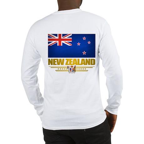"""New Zealand Pride"" Long Sleeve T-Shirt"