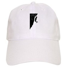 Rock Climb Cliff Hanger Baseball Cap