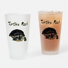Turtles Rock Drinking Glass