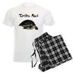 Turtles Rock Men's Light Pajamas