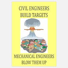 funny engineering Wall Art