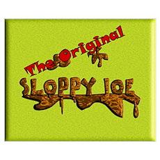 The Original Sloppy Joe V4.0 Wall Art Poster