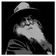 Walt Whitman Wall Art Poster