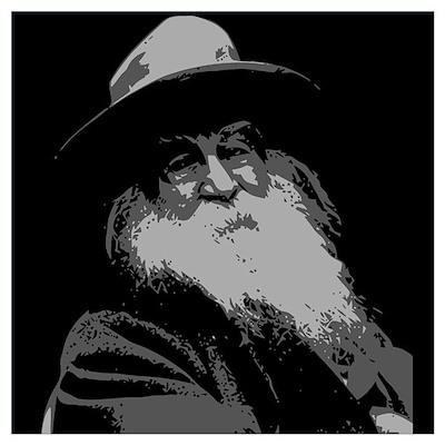 Walt Whitman Wall Art Poster