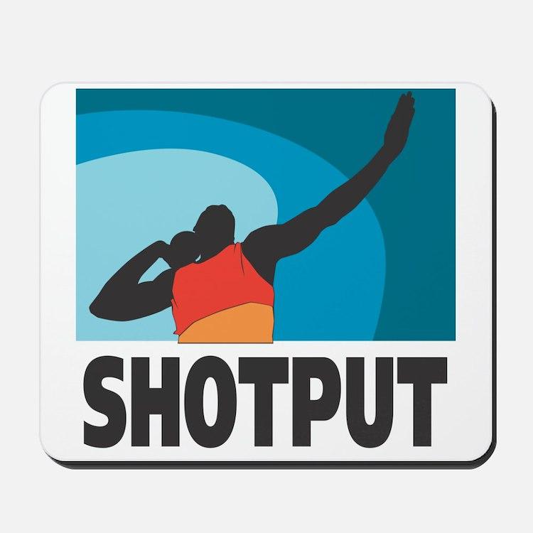 Shotput Mousepad