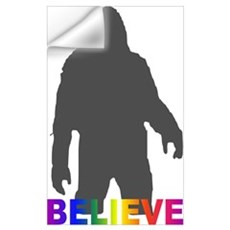 Believe in Bigfoot Wall Art Wall Decal
