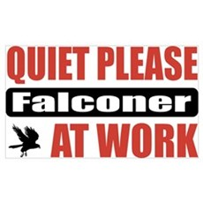 Falconer Work Wall Art Poster