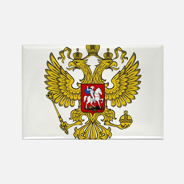 Cute Russian coat of arms Rectangle Magnet