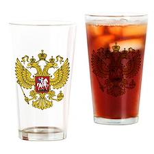 Cute Eagle head Drinking Glass