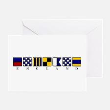 Nautical England Greeting Cards (Pk of 20)