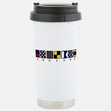 Nautical England Travel Mug