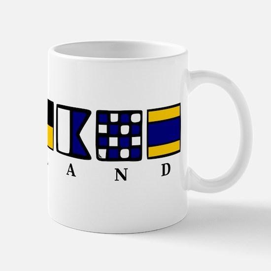 Nautical England Mug