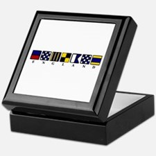 Nautical England Keepsake Box