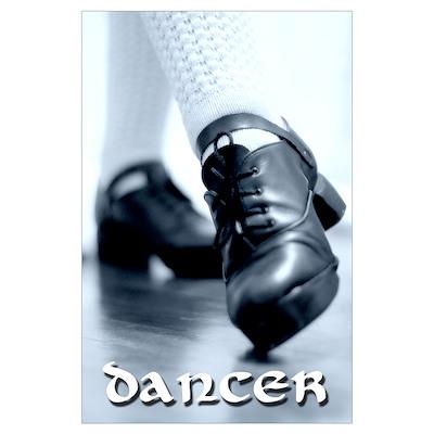 Hard Shoes Wall Art Poster
