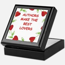 author Keepsake Box