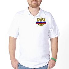 Cute Russian coat arms T-Shirt