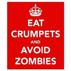 Eat Crumpets.... Wall Art Poster