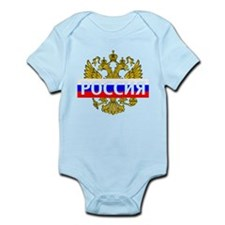Funny Russia Infant Bodysuit