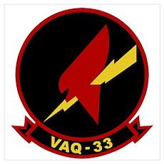 VAQ-33 Wall Art Poster
