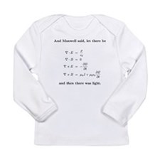 Maxwell's equations Long Sleeve T-Shirt