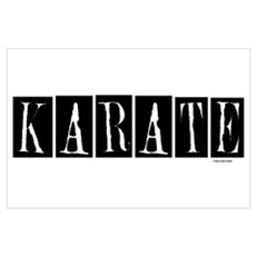 """Karate"" 1 Wall Art Poster"