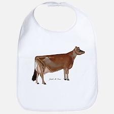 Jersey cow Bib