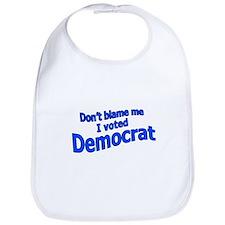 I Voted Democrat Bib