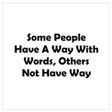 Way With Words Wall Art Canvas Art