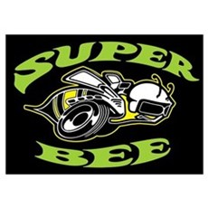 Super Beeee! Wall Art Poster