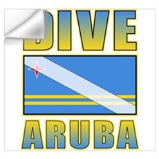 Scuba Dive Aruba Wall Art Wall Decal