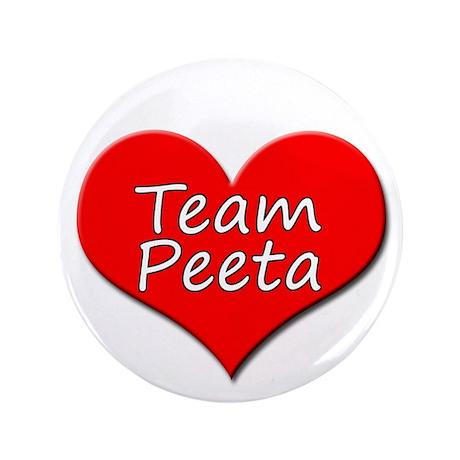 """Team Peeta 3.5"""" Button"""