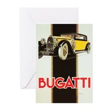 bugatti Greeting Cards
