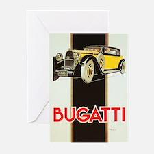 bugatti Greeting Cards