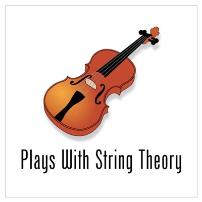 Plays With String Theory Wall Art Framed Print