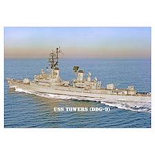 USS TOWERS Wall Art
