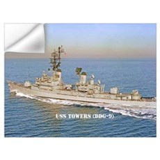 USS TOWERS Wall Art Wall Decal