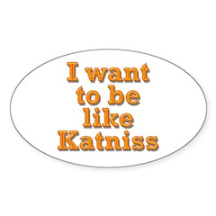 Want to be Katniss Decal