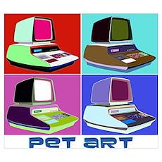 Commodore PET Art Wall Art Poster
