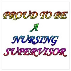 NURSING SUPERVISOR Wall Art Canvas Art