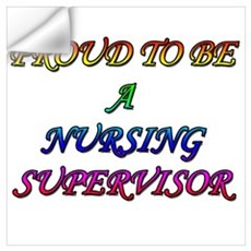 NURSING SUPERVISOR Wall Art Wall Decal