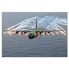 C-130 Hercules Wall Art Canvas Art