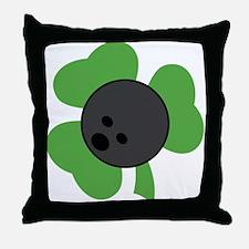 Irish Bowling Gift Throw Pillow