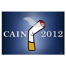 Cain President 2012 Wall Art Canvas Art